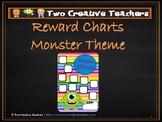 Reward Chart Sticker Chart Monster Theme 2