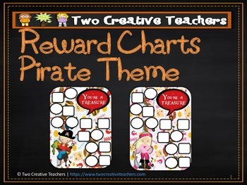 Reward Chart Sticker Chart Pirate Theme