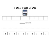 Reward Chart: Time Earned for iPad