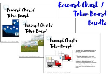 Reward Chart / Token Board Bundle