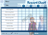 Reward Chart for kids / Frozen Reward Chart /Printable / P