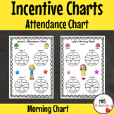 Reward Charts: Attendance and Morning Incentive Charts