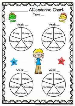 reward charts attendance and morning incentive charts