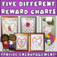 Reward Charts FOR GIRLS: Incentive Sheets to Motivate & Improve Behavior