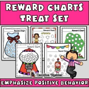 Reward Charts FOR TREATS: Incentive Sheets to Motivate & Improve Behavior