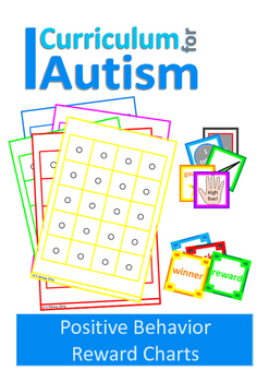 Positive Behavior Token Economy Reward Charts Back To School Autism Sped
