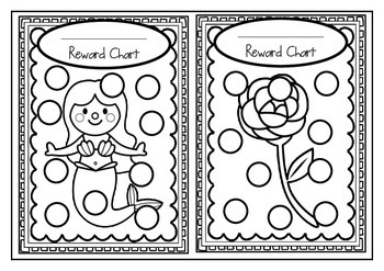 Reward Charts - Set #3 Set of 24