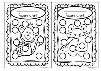 Reward Charts - Set #1 - Set of 24
