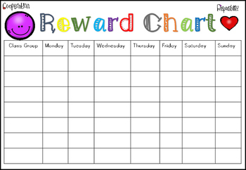 Reward Charts for Home and School