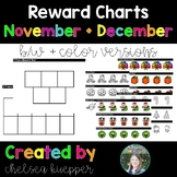 Reward Charts for November and December - VIPKid Rewards,