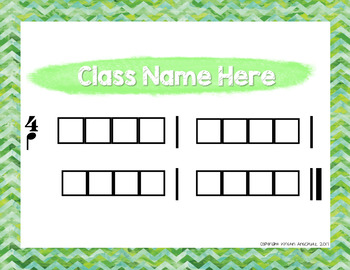 Reward Charts for the Music Classroom