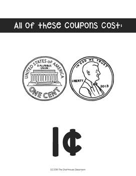 Reward Coupon Cost Dividers