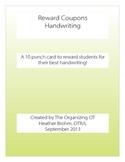 Reward Coupon - Handwriting (OT)
