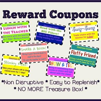 Reward Coupons for Behavior Management