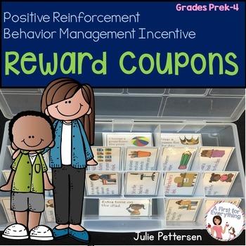 Behavior Management Reward Coupons