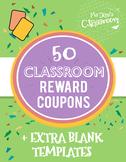 Reward Coupons (50 Coupons)