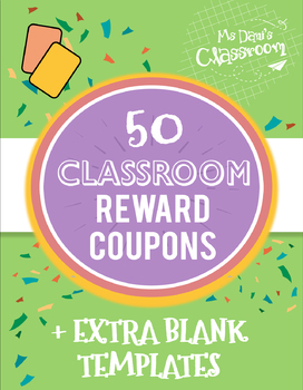 Reward Coupons (50 Coupons)