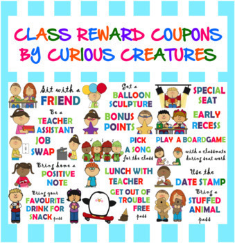 Sit with a friend pass teaching resources teachers pay teachers class reward coupons class reward coupons fandeluxe Choice Image