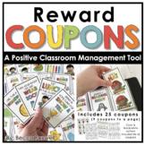 Reward Coupons   Positive Classroom Mananagement Tool