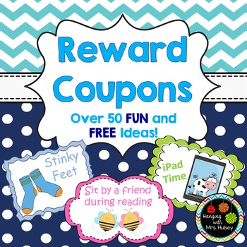 Reward Coupons: 51 Colorful & Exciting Rewards for Student