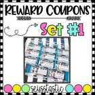 Reward Coupons-55 Different Coupons for Classroom Management!