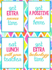 Reward Coupons 56 Bright and Bold Themed | Printable | Behavior | Classroom