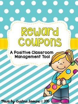 Reward Coupons- A Positive Classroom Management Tool