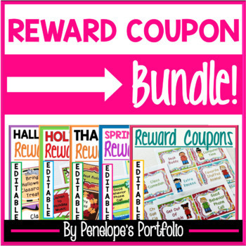 All Year Long Reward Coupons BUNDLE