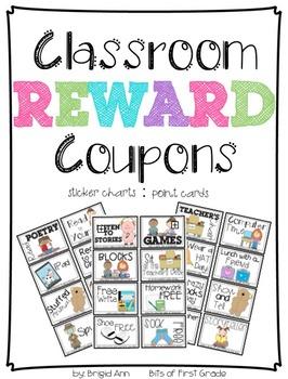 Reward Coupons Classroom Management