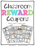 Reward Coupons Classroom Management