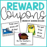 Reward Coupons: Classroom Management Tool