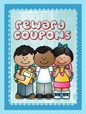 Reward Coupons- Different Coupons for Classroom Management