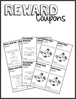 Reward Coupons - Editable