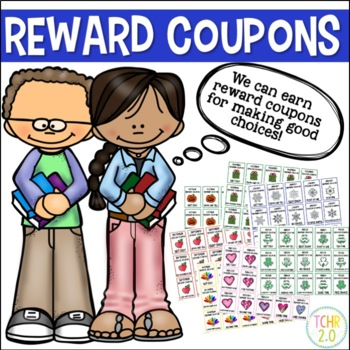 Reward Coupons Editable Monthly Themes