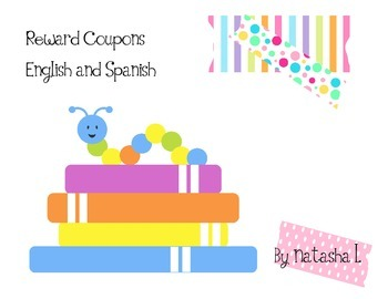 Reward Coupons (English and Spanish)