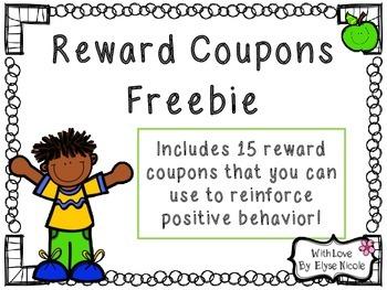Reward Coupons FREEBIE