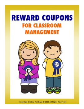 Freebie Reward Coupons For Classroom Management