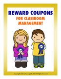 Freebie Reward Coupons For Classroom Management