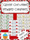 Reward Coupons for Classroom Management {Glitter Chevron}