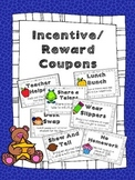 Reward Coupons: Incentive Coupons: Behavior Management