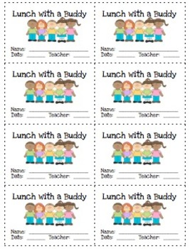 Reward Coupons: Lunch with a Buddy