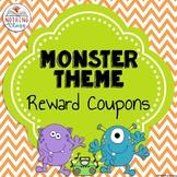 Reward Coupons Monster Theme