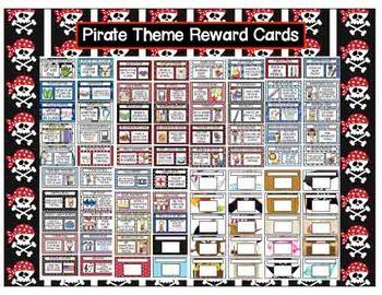 Reward Coupons - Pirate Theme