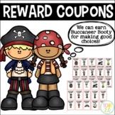 Pirate Reward Coupons Editable