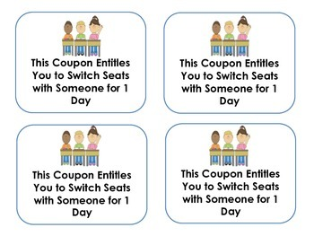 Reward Coupons - Positive Reinforcement Behavior Management System