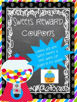 Reward Coupons for Classroom Management {Sweets}