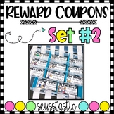 Reward Coupons-Set 2