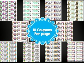 Reward Coupons Set 2 Site License