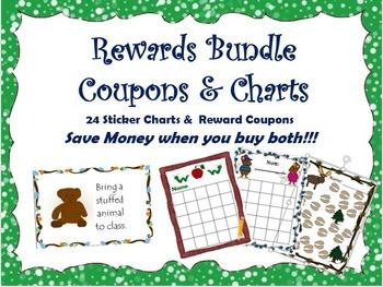 Reward Coupons & Sticker Chart Bundle