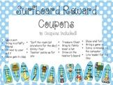 Reward Coupons- Surfboard/Beach Themed!